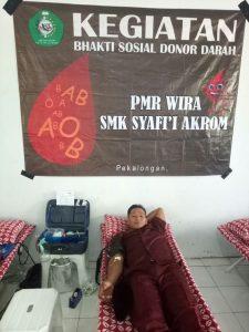donor darah SMK syafi'i akrom